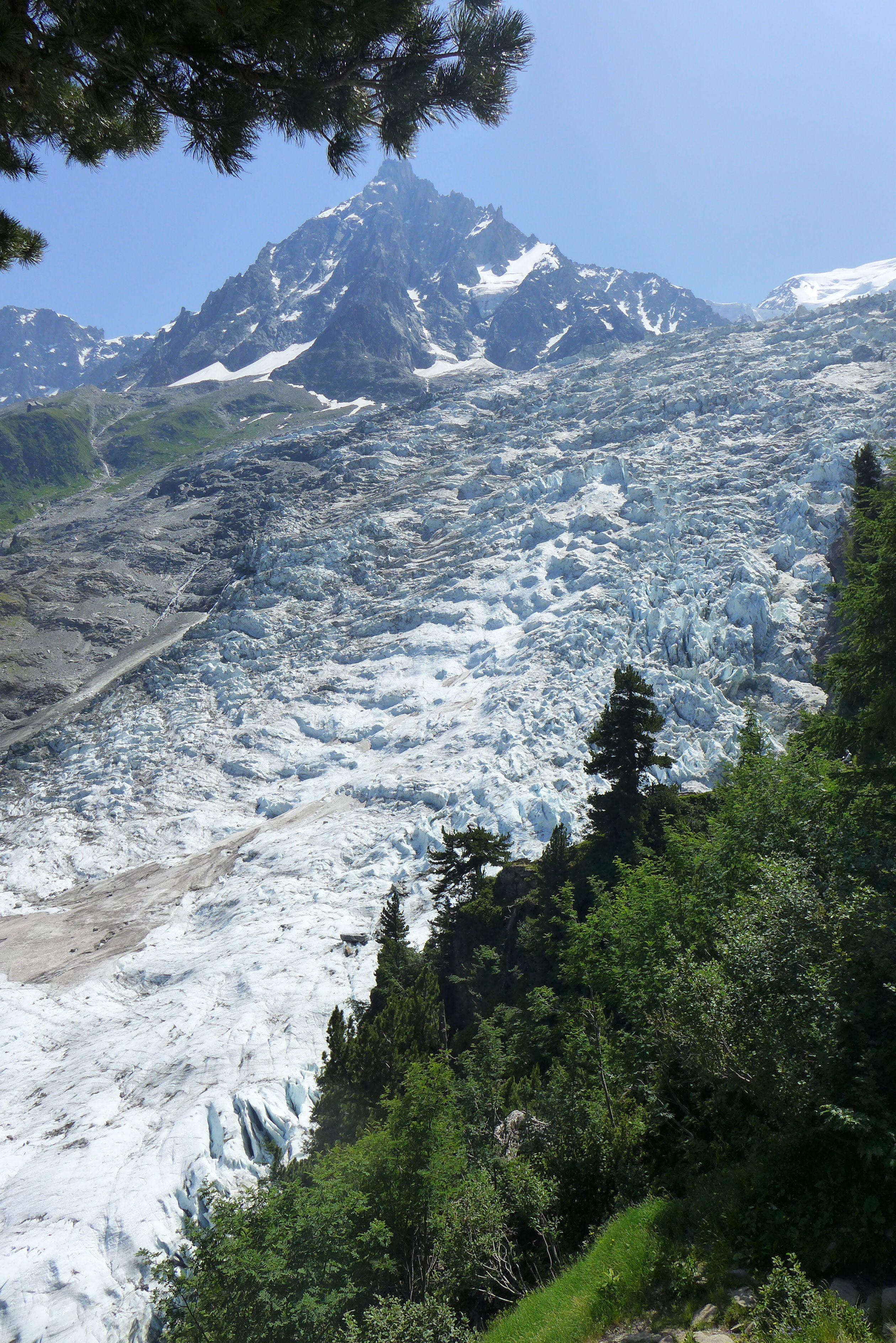 Glacier Bosson, Chamonix, France