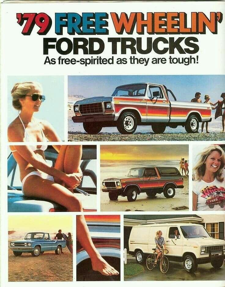 1979 Ford Truck Models Lineup 1979 Ford Truck Ford Truck Models Classic Ford Trucks