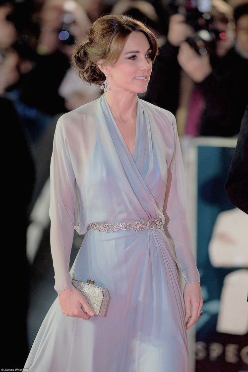 The Duchess of Cambridge at the Spectre premiere in London.