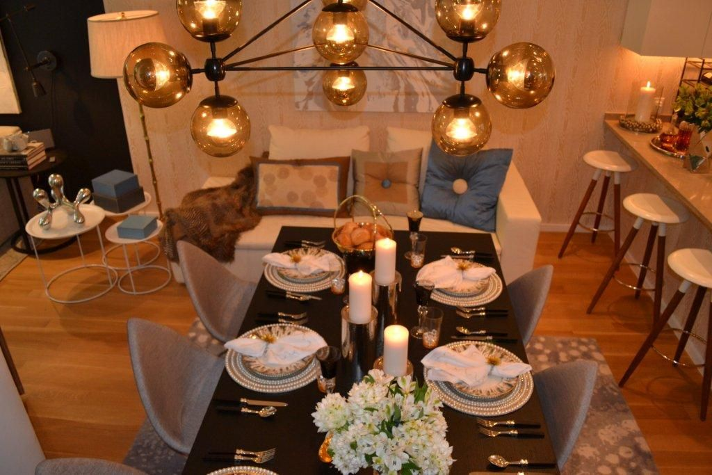 This Roll & Hill Chandelier was a big hit!