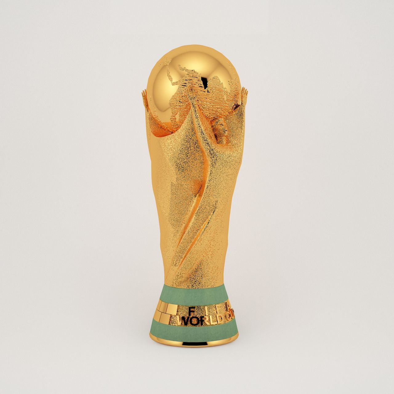 Fifa World Cup Trophy 3d Model World Fifa Cup Model World Cup Trophy Fifa World Cup Fifa