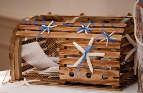 Lobster trap gift/card box | The \'Maine\' Event | Pinterest ...