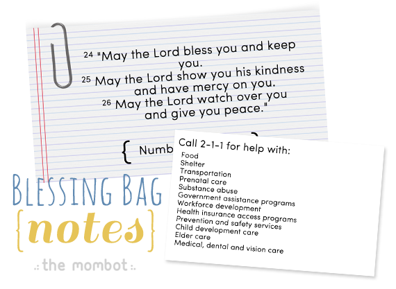 Blessing Bags On A Budget The Mombot Blessing Bags Homeless Bags Homeless Care Package