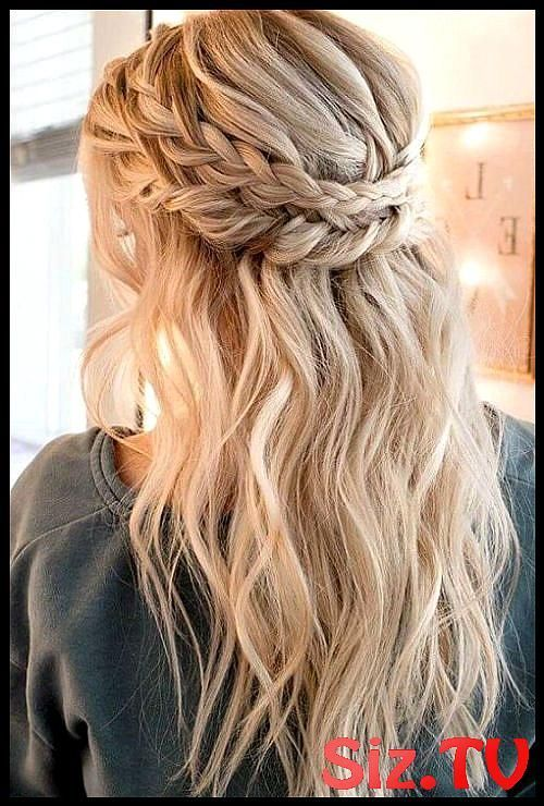 All Time Best Rope Braided Long Hairstyles For Prom Hair And Comb Check Out Our Collection Of Easy Hairstyles Step By Step Diy You Will Get Hairstyles… - Hairstyle Lazy Girl