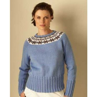 Free Natural Elements Sweater Knit Pattern - Free Patterns - Books ...