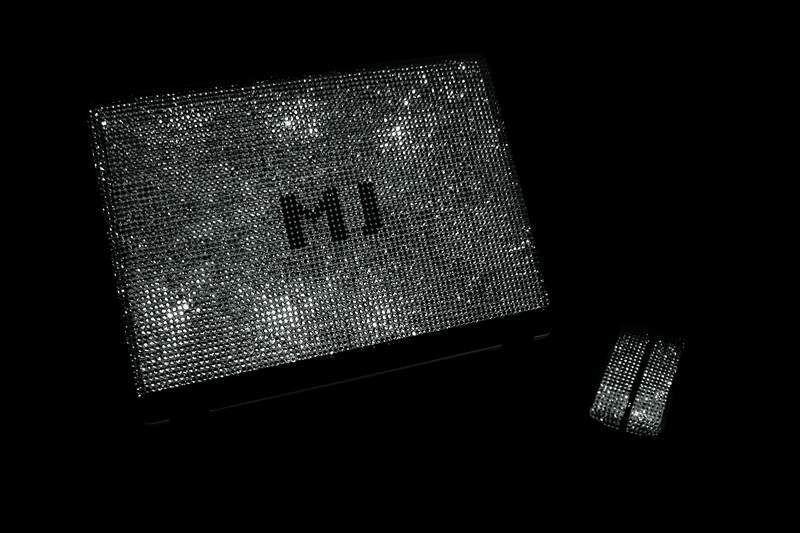 MJ's Swarovski & Diamond Studded Notebook