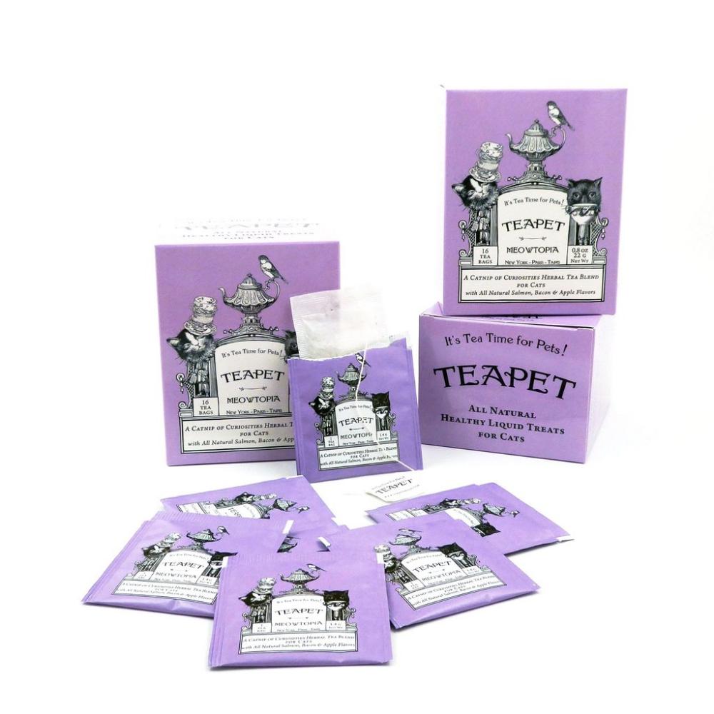 MEOWTOPIA A Catnip of Curiosities Herbal Tea for Cats