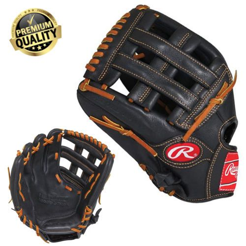 12 5 034 Baseball Glove Outfield Rawlings Pro Glove Lefty Hand Throw Premium Glove Baseball Glove Hand Thrown Rawlings