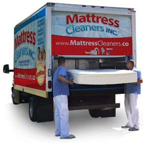 Clean sleep machine. Mobile mattress cleaning in North