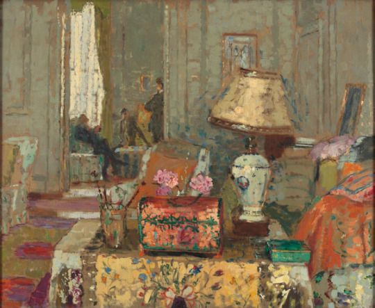 The Pink Box - Ethel Sands   American, 1873-1962