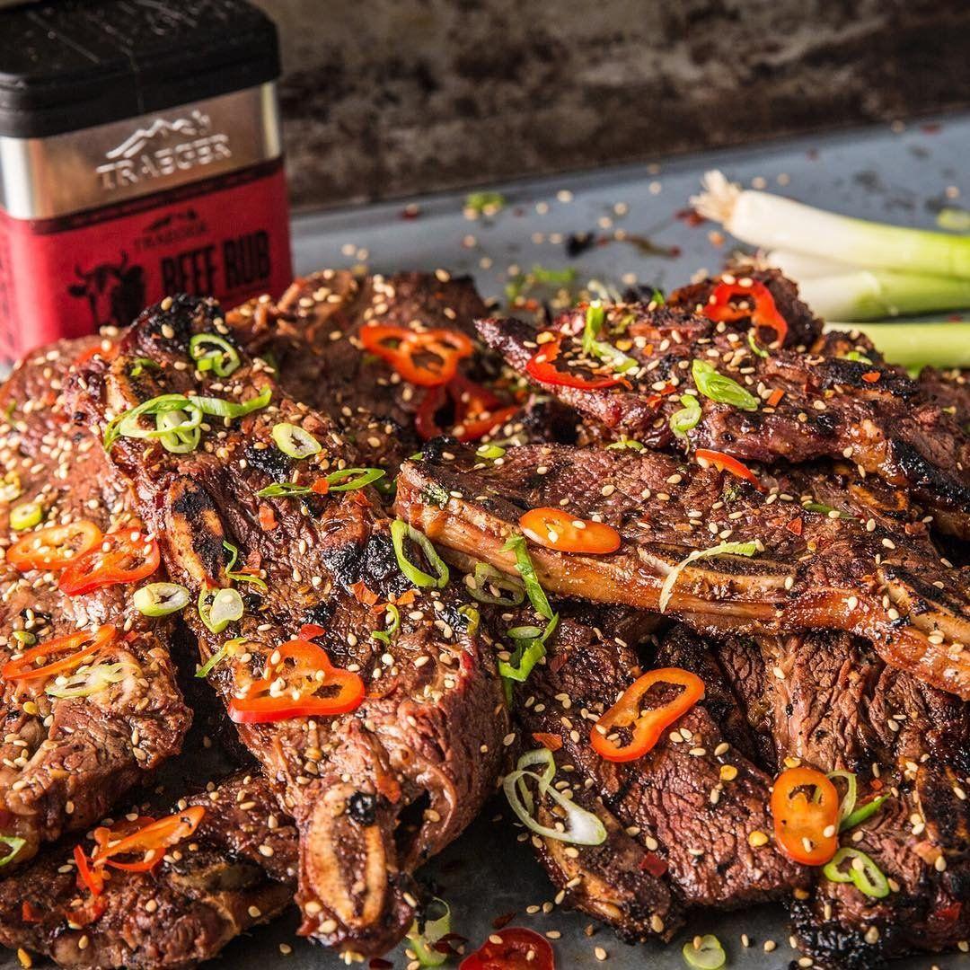 Beef Pot Roast Traeger Grills Recipe Short Ribs Korean Short Ribs Beef