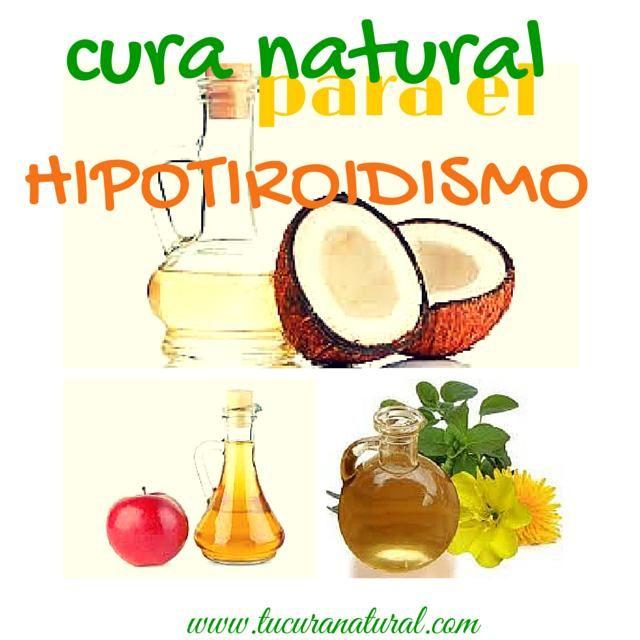 medicina natural para curar hipotiroidismo