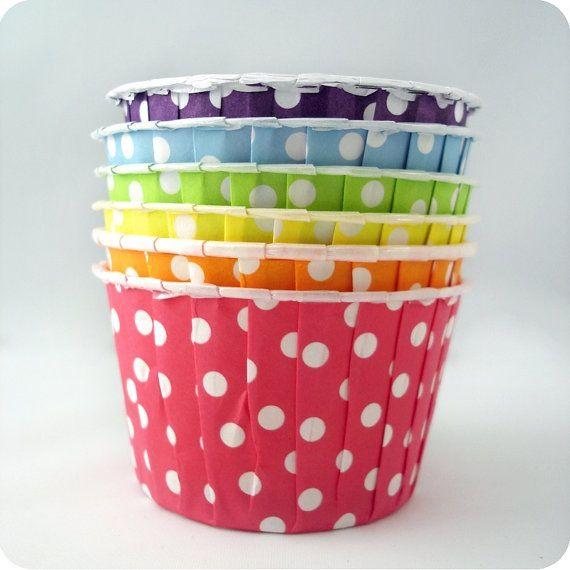 Cute cupcake baking cups