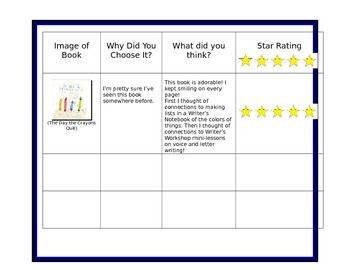 Book Review Template Free From Leach Teach  Read All About It