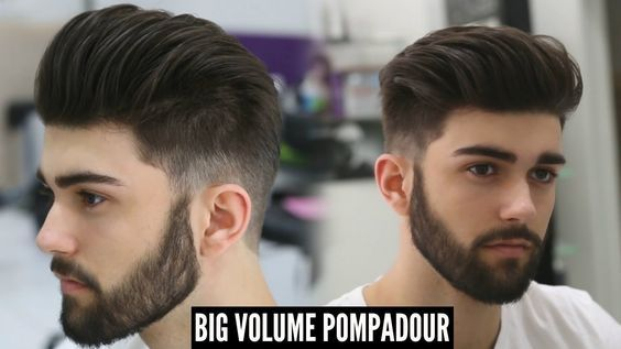 Big Volume Pompadour New Best Mens Hairstyle For 2017 Tutorial Pompadour Haircut Pompadour Hairstyle Mens Hairstyles