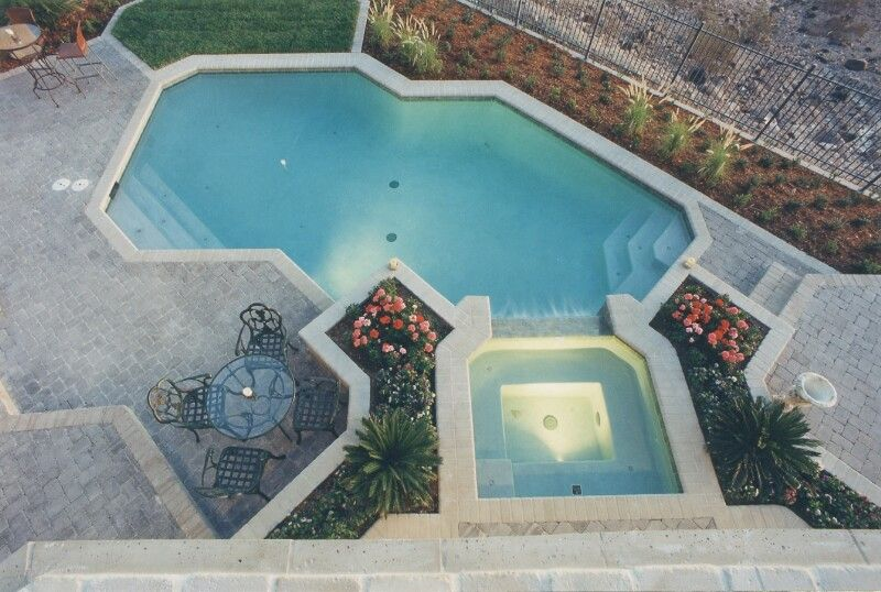 above ground pool and deck designs inground pool designs design your ...
