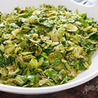 Sauteed Brussels Sprouts with Pancetta by Skinny Taste