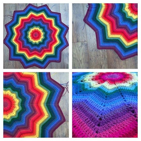 10 New Rainbow Crochet Patterns + More Photo Inspiration