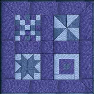 How to make a patchwork sampler quilt top - basics and first block ... : how to make a quilt top - Adamdwight.com