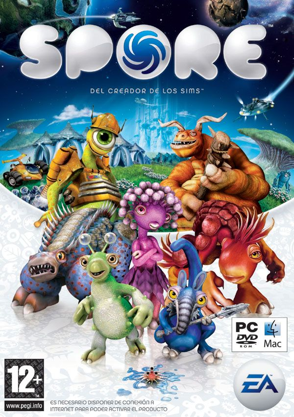 Spore Download Cover Free Game | Games to Download Free
