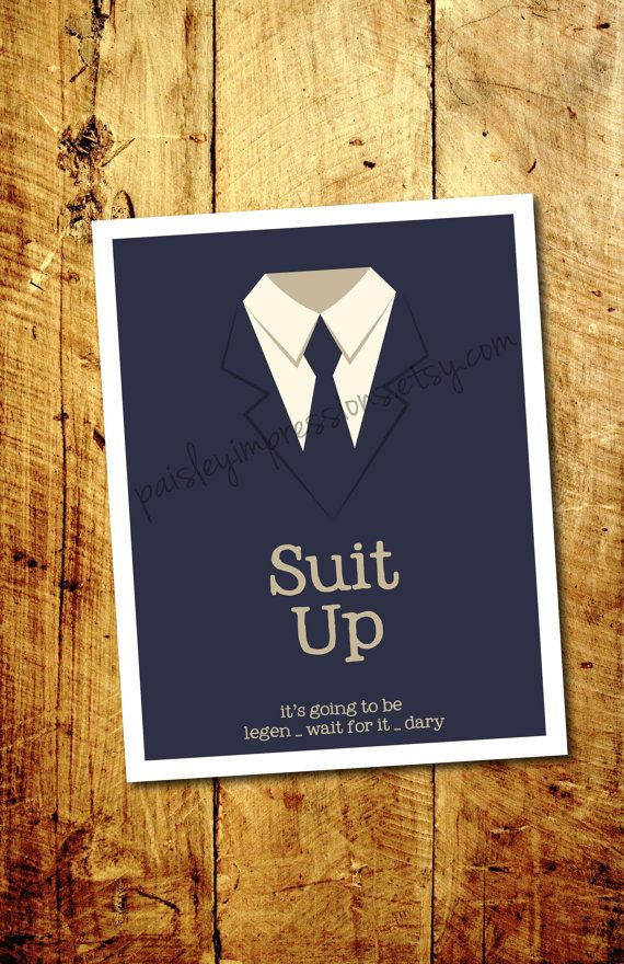 Suit Up How I met your Mother Barney by PaisleyImpressions | frsfff ...