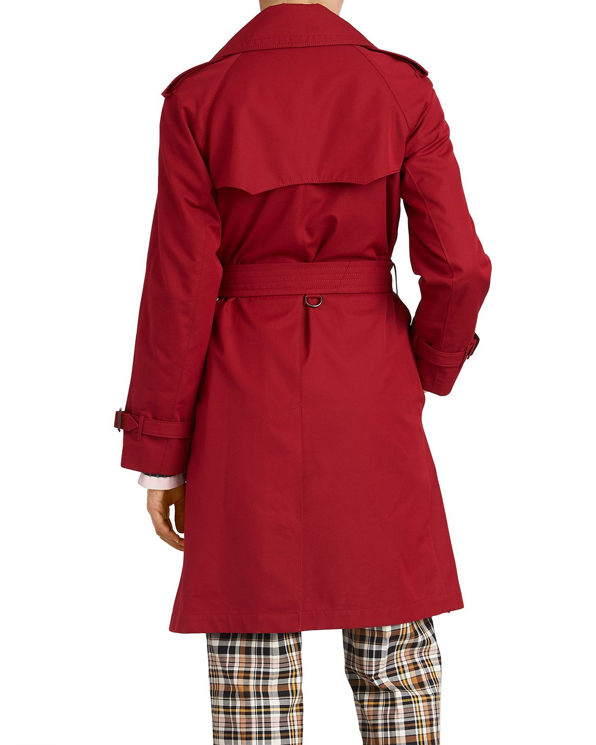 6b00a61506c9 Burberry Crambeck Long Double-Breasted Trench Coat