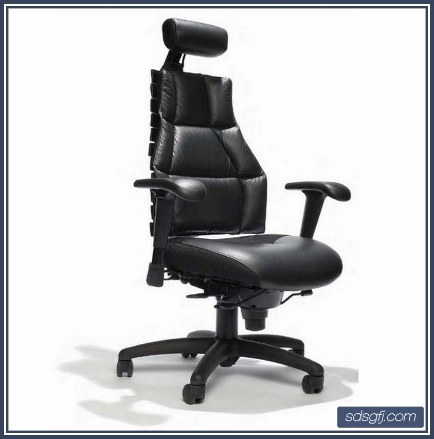 contemporary leather high office chair black. Modern-black-leather-high-back-computer-office-desk- Contemporary Leather High Office Chair Black R
