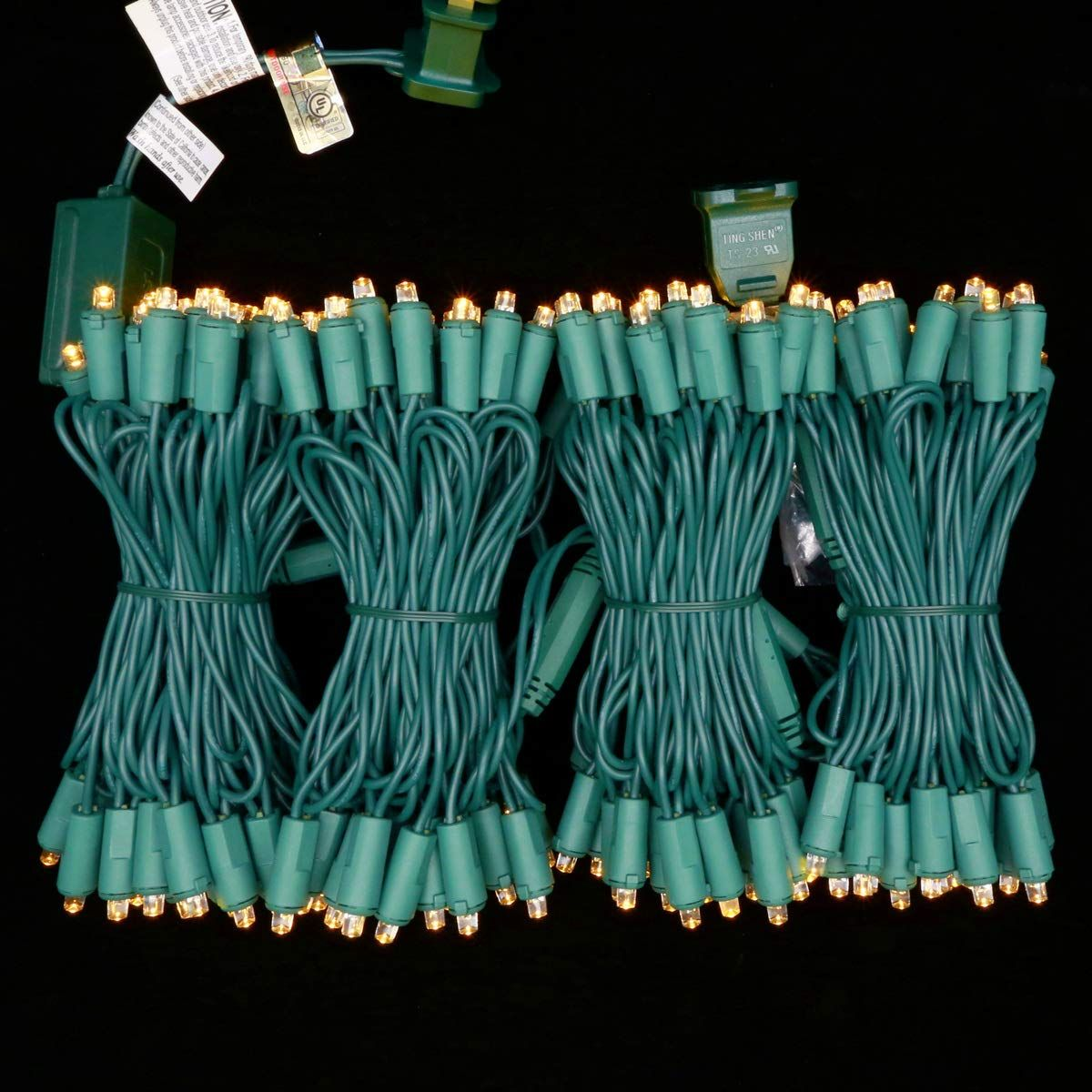 reputable site 40ab1 161d4 Commercial Grade Stay Lit Christmas String Lights UL ...