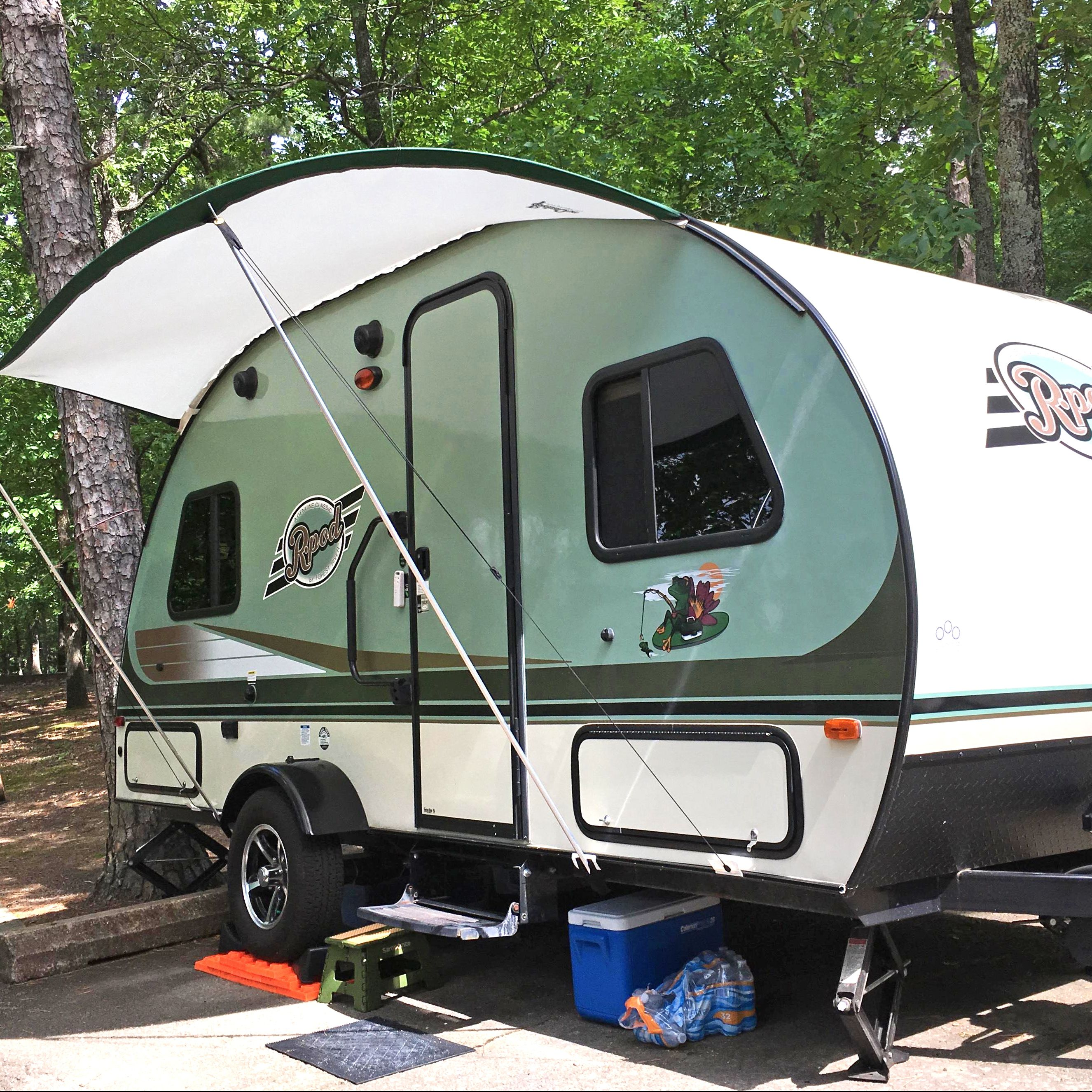 R Pod Trailer Visor R Pod Pod Camper Family Camping