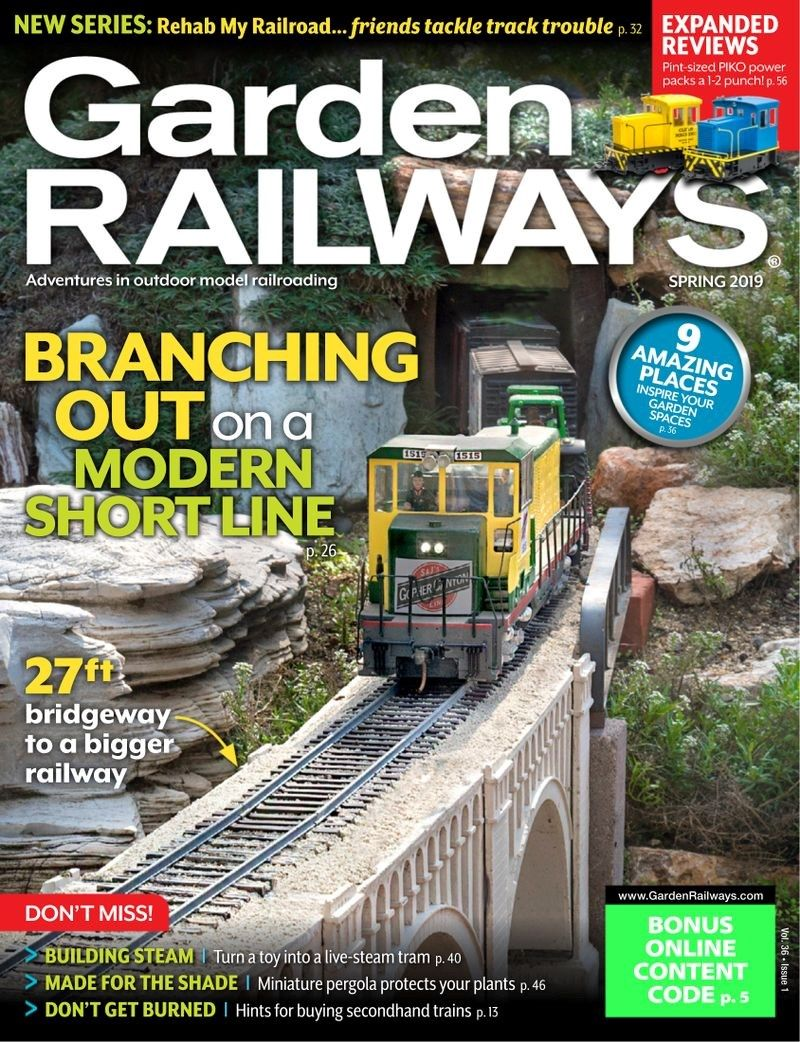 Garden Railways Cover For Garden Railway Model Trains Railway