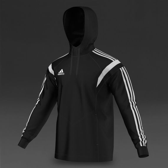Mens Football Teamwear - adidas Condivo 14 Hoody - Black/White. Soccer  ClothesSoccer ...