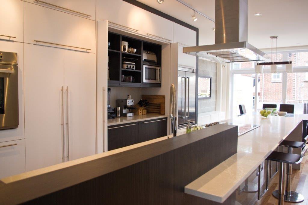 Galerie de nos projets Cuisines Verdun Contemporaine #cuisine