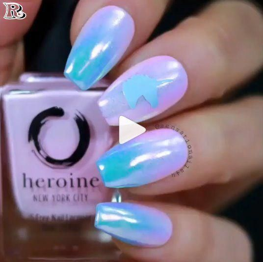 The best 35 Chrome Nail Polish 2018 - Reny styles #chromenails #chromenails