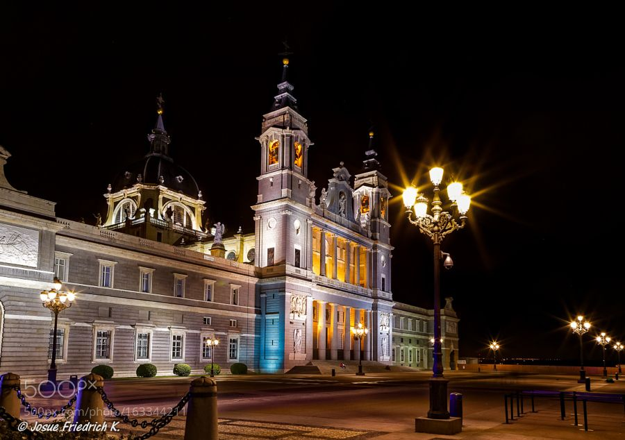 Cathedral of La Almudena in Madrid by ebjofrie