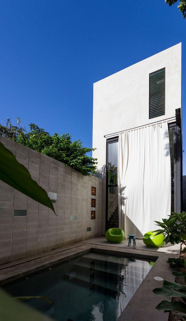 Raw house piscine idées pour la maison maison de ville maison de façade