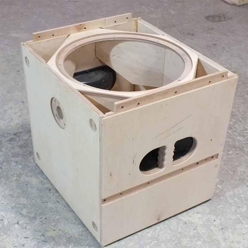 Image Result For Homemade Line Array Speakers Speaker Plans Custom Speaker Boxes Subwoofer Box Design