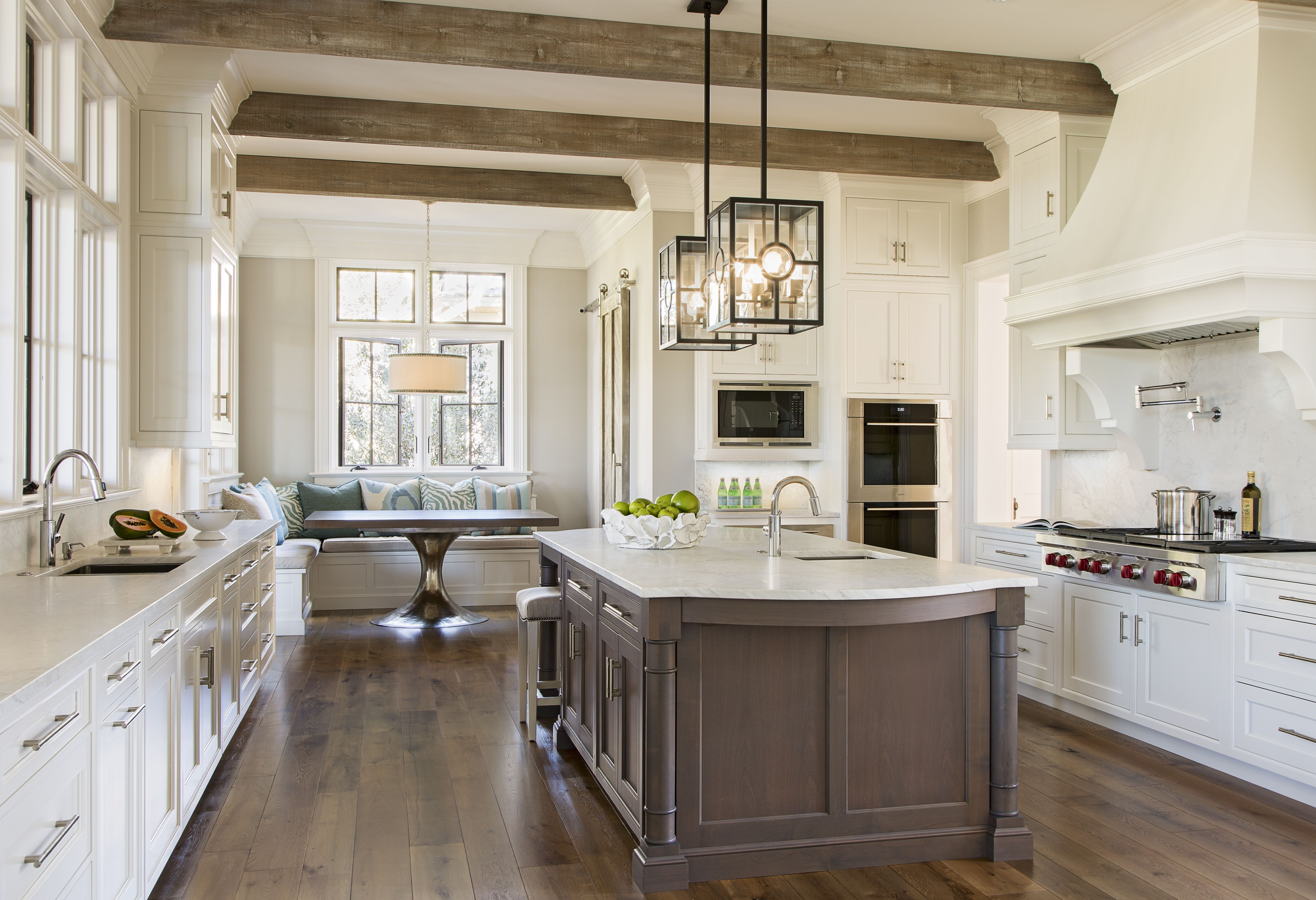 A Kitchen with Timeless Elegance Traditional Home (With