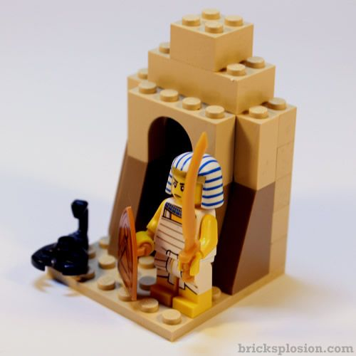 Lego Series 13 Egyptian Warrior  Minifigure