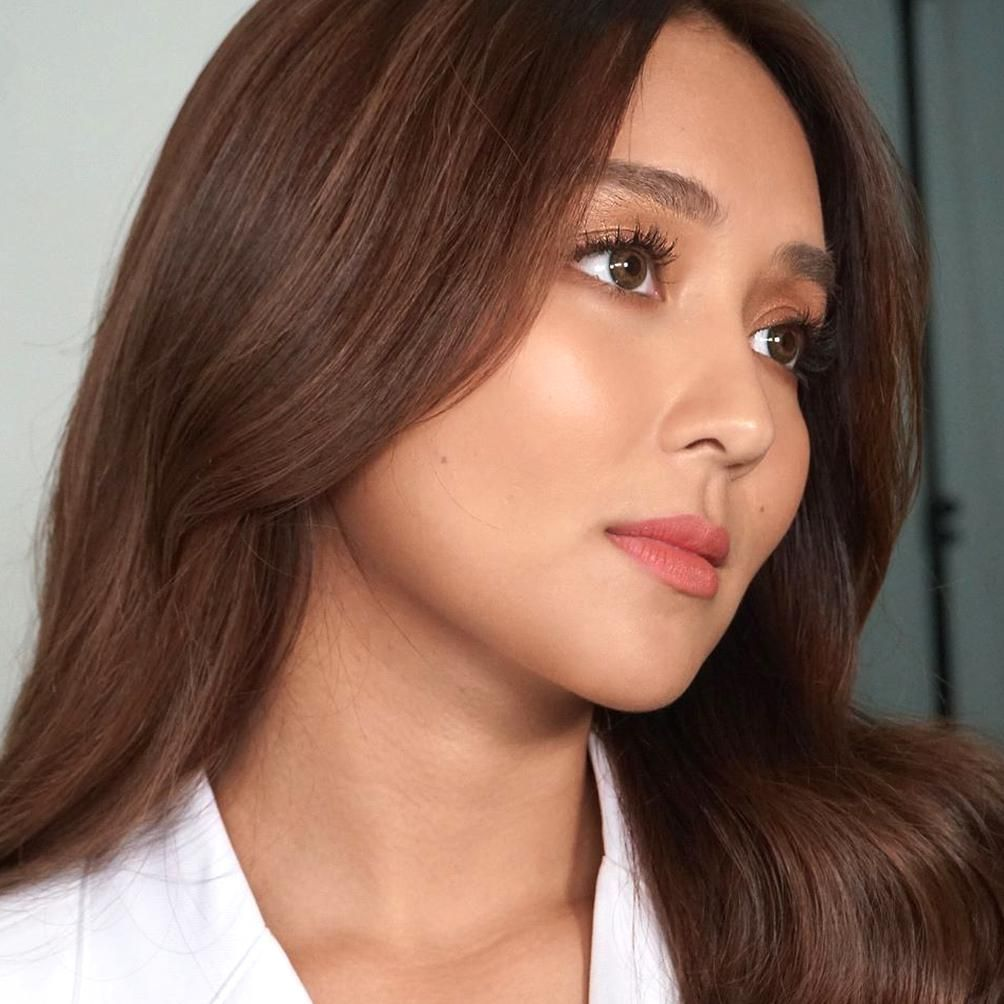 Well Hello There Mrs Bernardokath Kimiyap Boopyap Meetlulu Johnvalle20 Makeupbydeniseochoa Ninagferr In 2020 Hair Color For Morena Hair Color Asian Short Hair Color