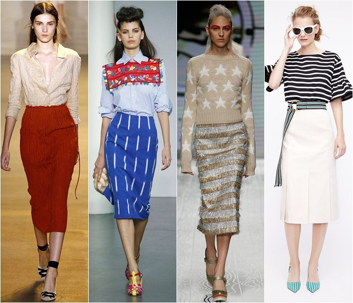 Skirt Fashion Trends Spring-Summer 2016 | Pencil skirts ...