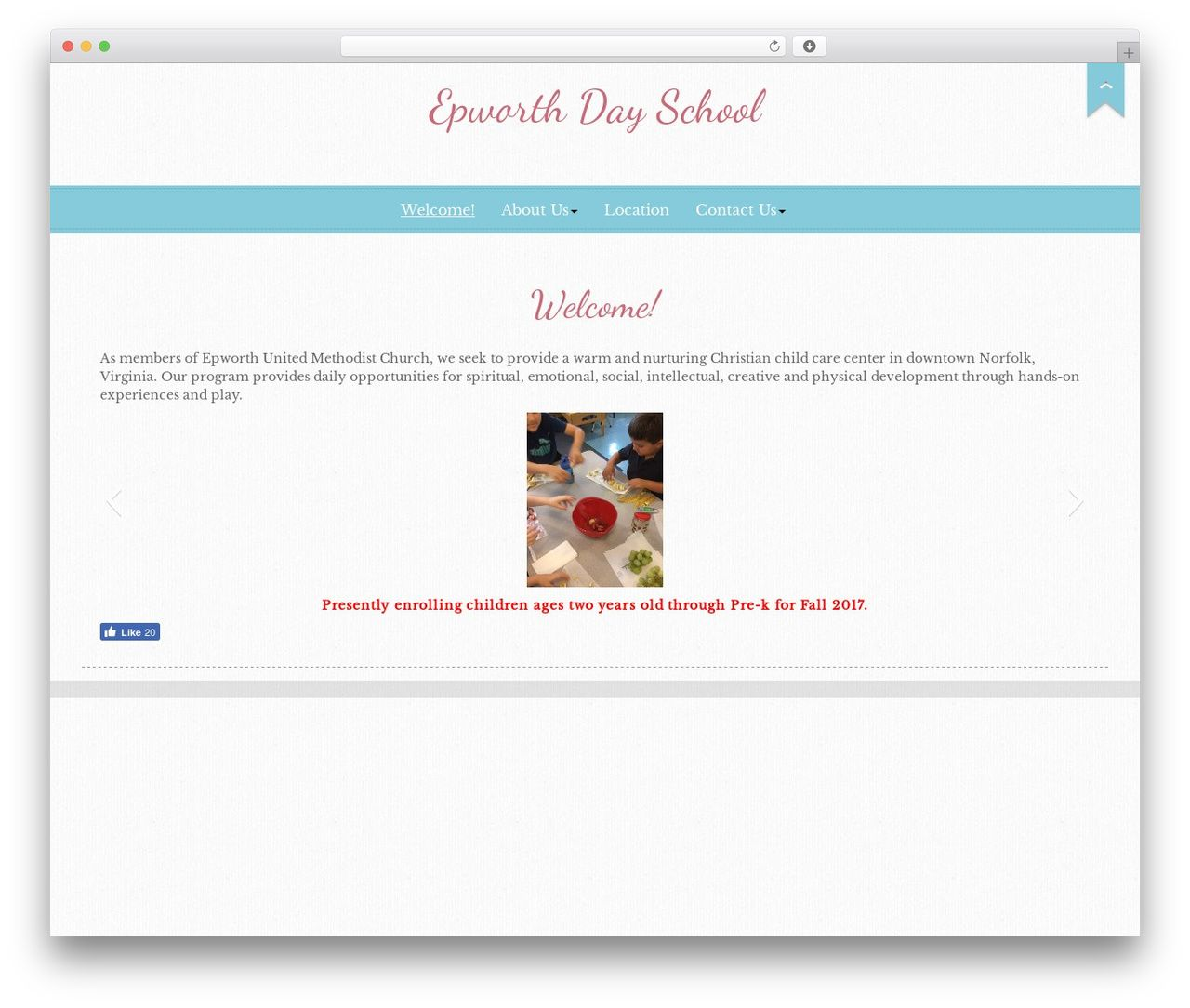 WordPress theme Go Daddy Podiuum - epworthdayschool.org | WordPress ...