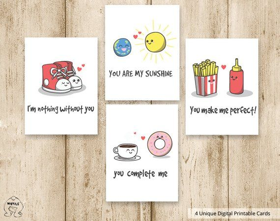 Funny cards,printables instant kid,for Kids ,Printable Kids Valentines Cards,3.5×4.5,DIY Printalbe File,Happy cards,Instand download