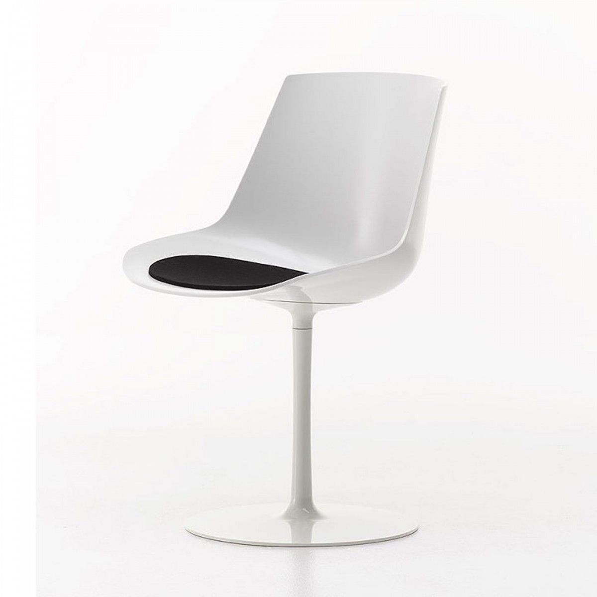 Flow Chair Pedestal Base   Jean Marie Massaud   MDF Italia