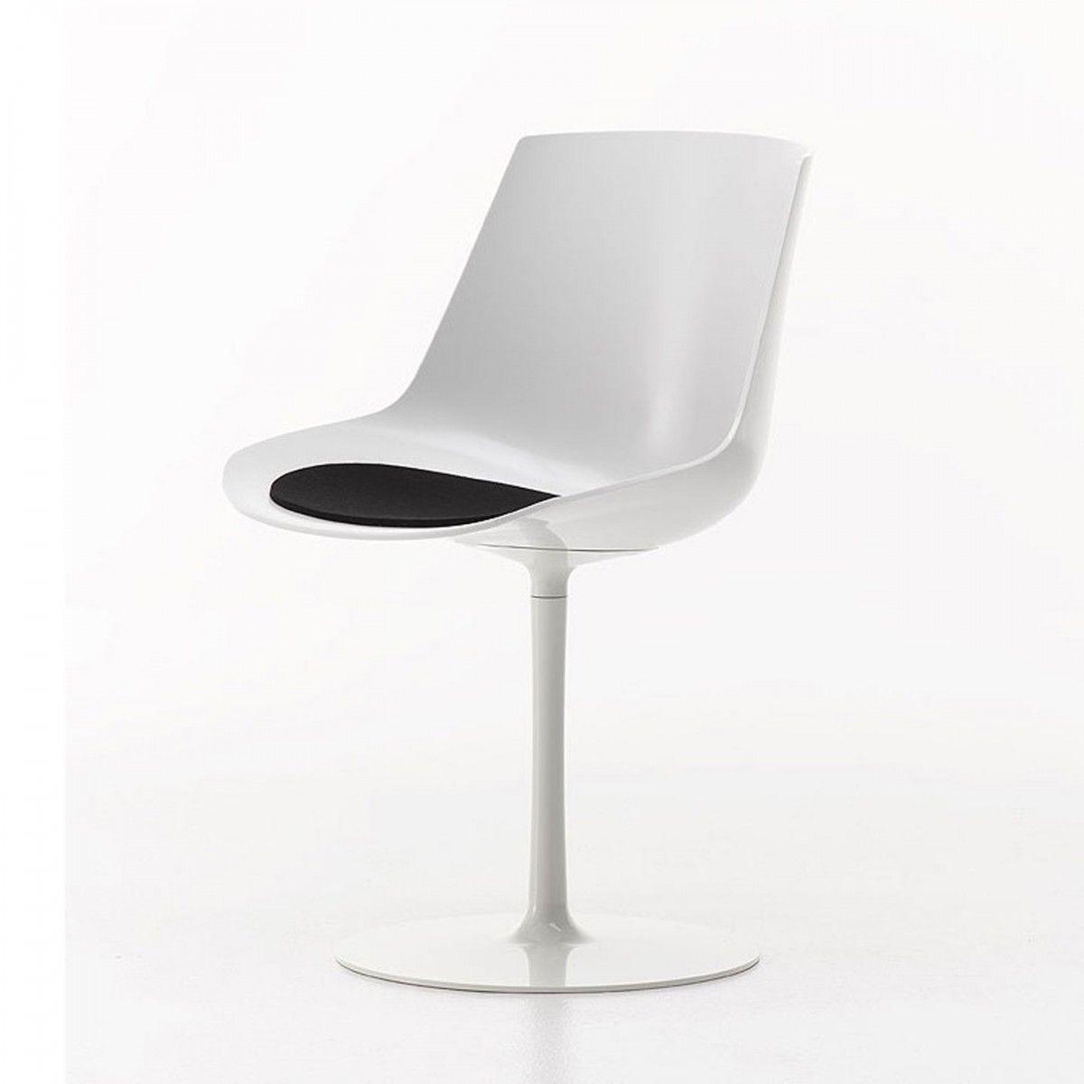 Flow Chair Pedestal Base   Jean Marie Massaud   MDF Italia