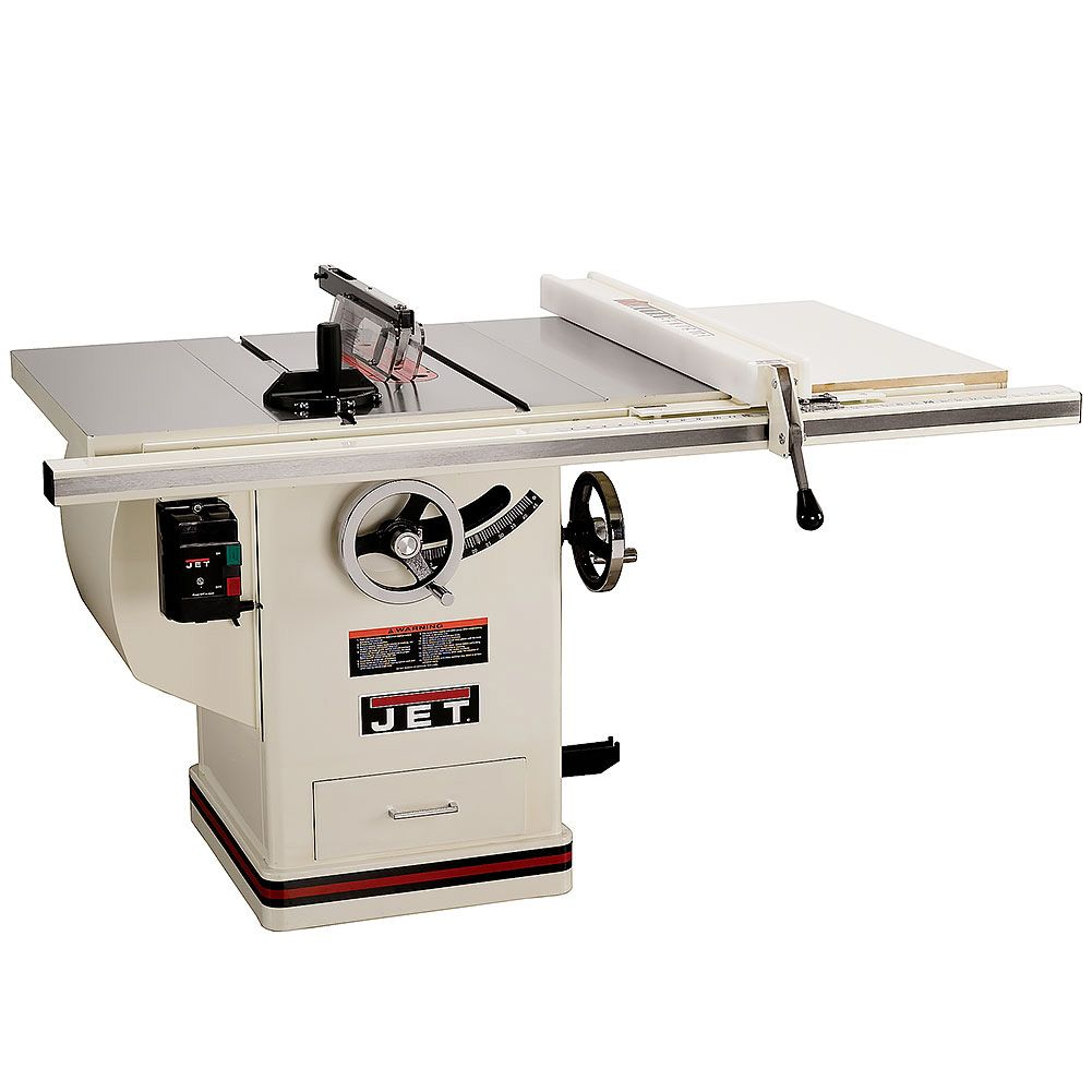 Jet Xacta Saw Deluxe Table Saw 3 Hp 30 Fence Jtas 10xl30 Dx Craft Supplies Usa Table Saw Best Table Saw