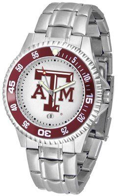Texas A&m University Aggies Competitor - Steel Band - Men's - Men's College Watches by Sports Memorabilia. $78.73. Makes a Great Gift!. Texas A&m University Aggies Competitor - Steel Band - Men's