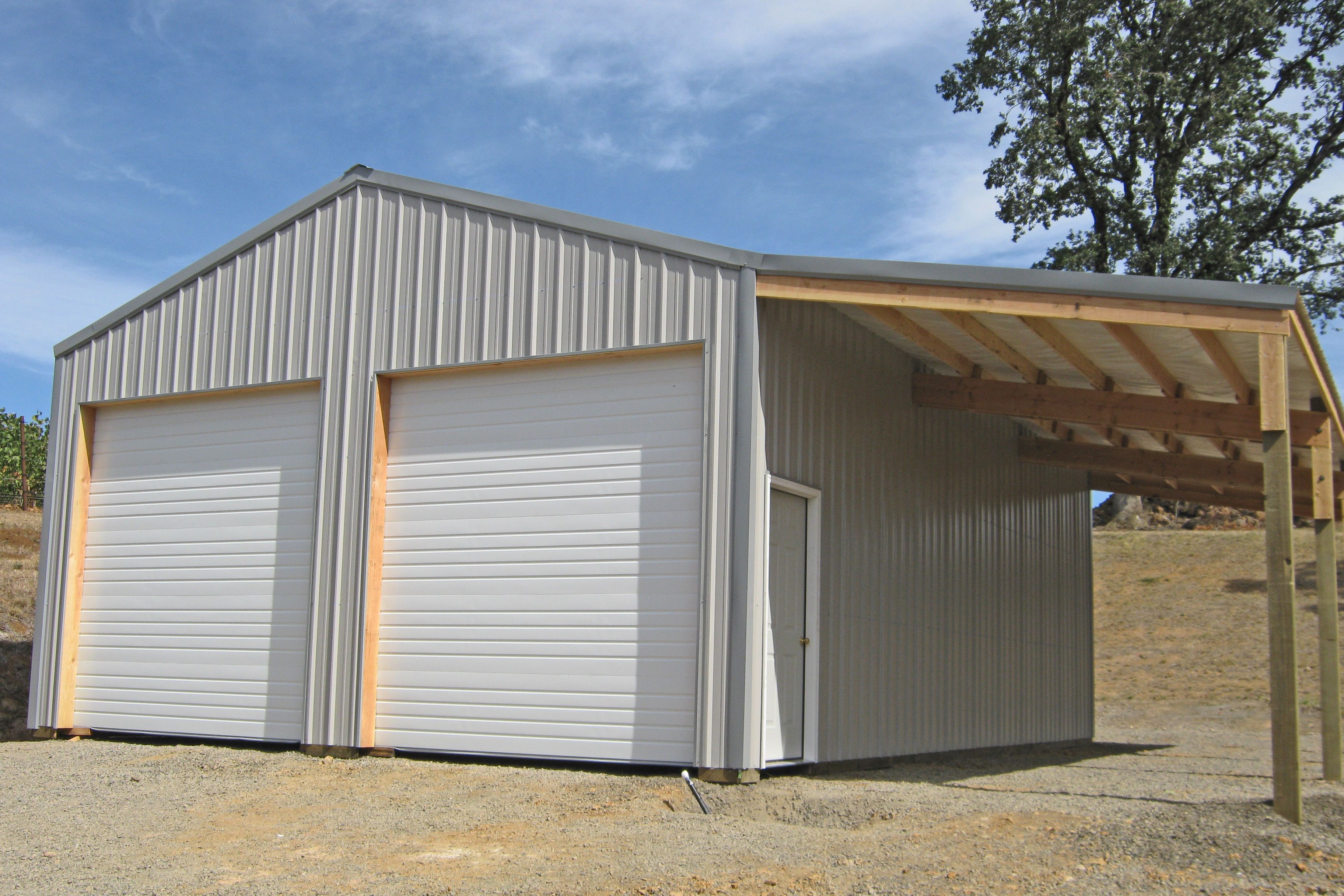 30 X 36 X 12 Storage Building For A Vineyard Www Econofabbuildings Com Metal Storage Buildings Metal Garage Buildings Metal Garages
