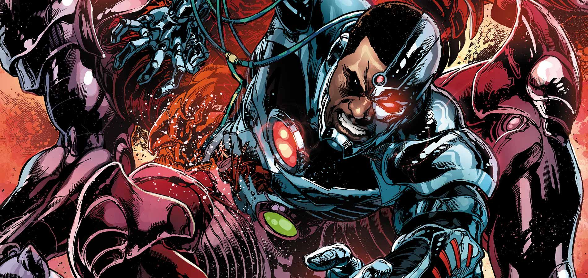 Image result for cyborg comics evil