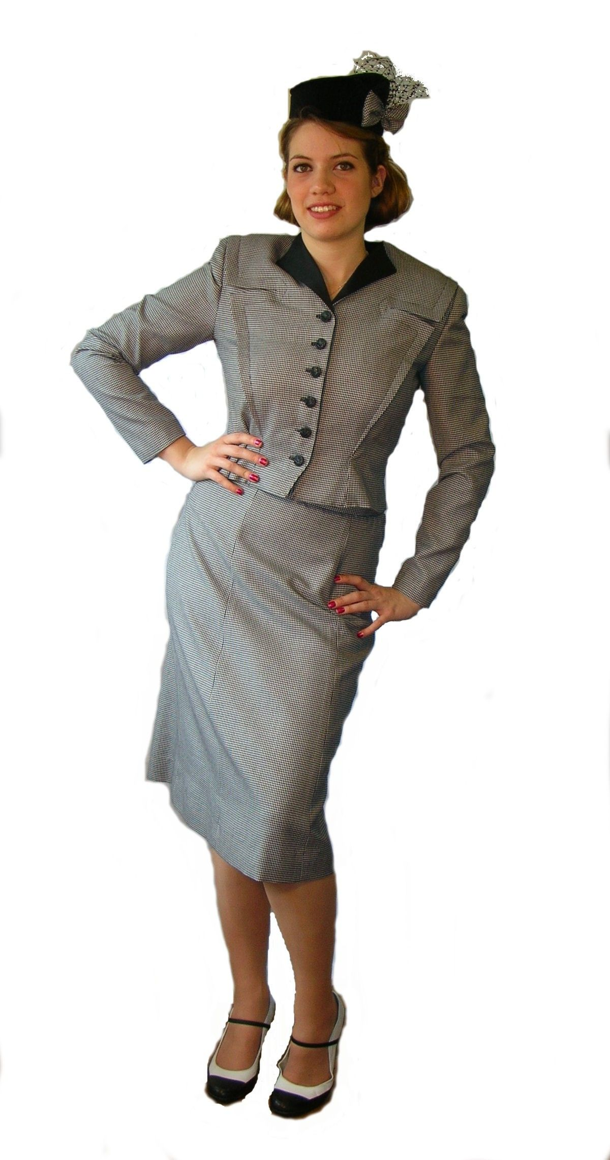 Ebony Ladies Dress Suits Double Click On Above Image To View Full Picture