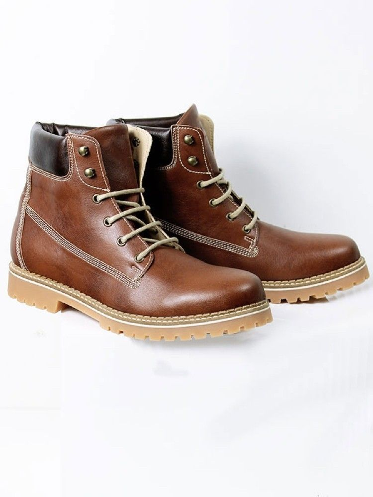 Vegan Vegetarian Non Leather Womens Dock Boots In Chestnut Vegan Shoes Mens Vegan Shoes Vegan Shoes Boots